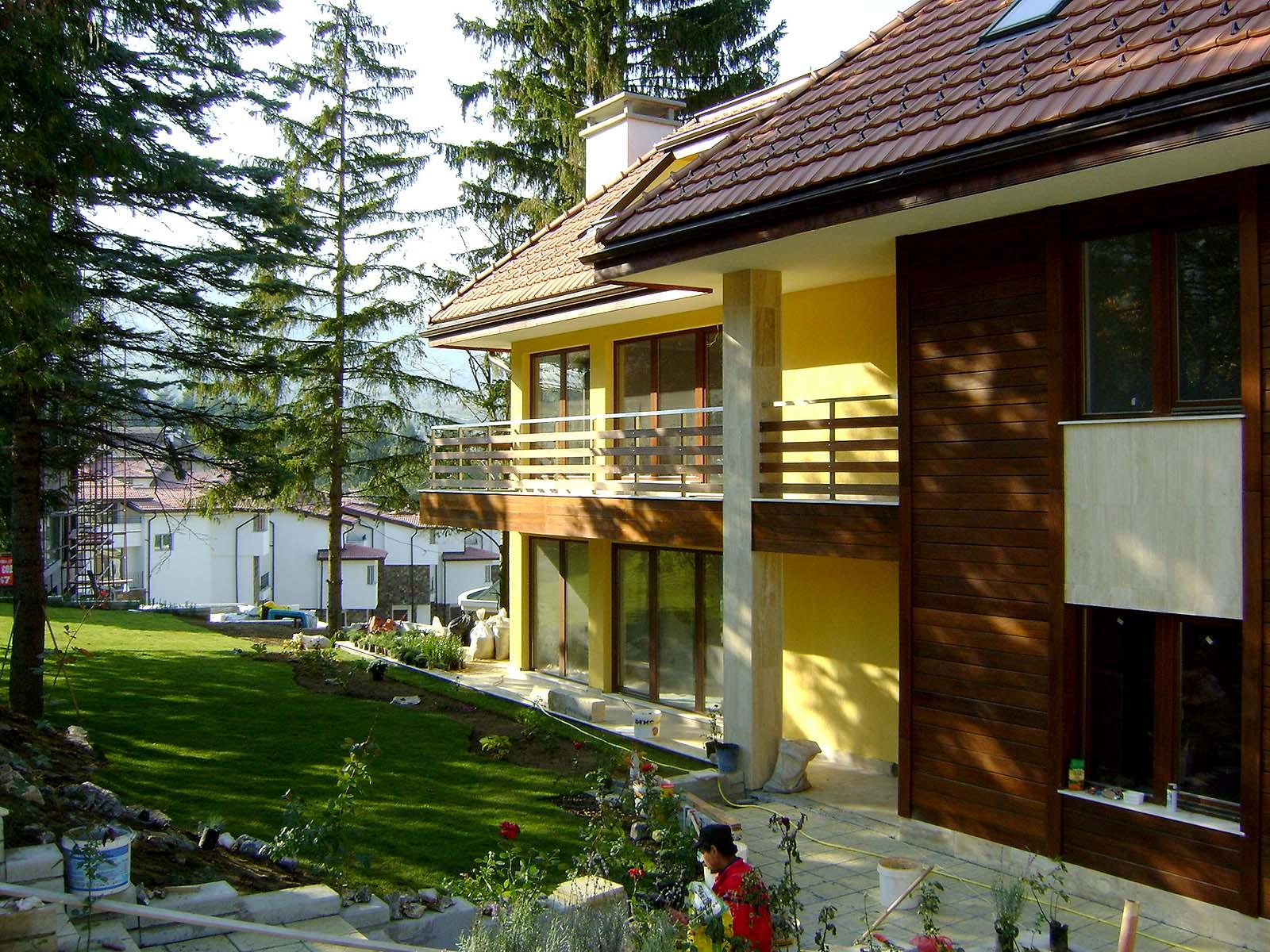 Single Family House, Dragalevtsi. Еднофамилна къща, Драгалевци 01
