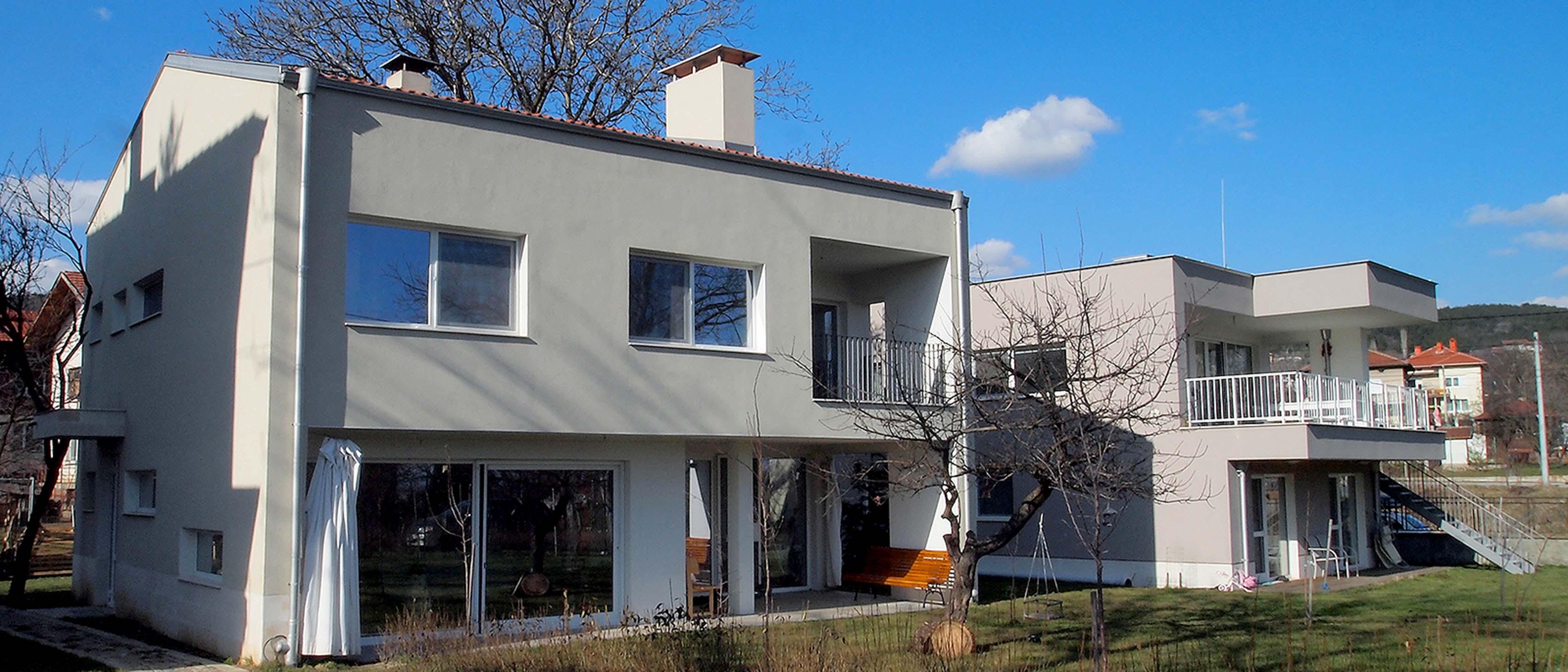 Еднофамилни жилищни сгради, с. Кътина