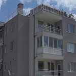 Residential building with offices and underground garage, Manastirski Livadi