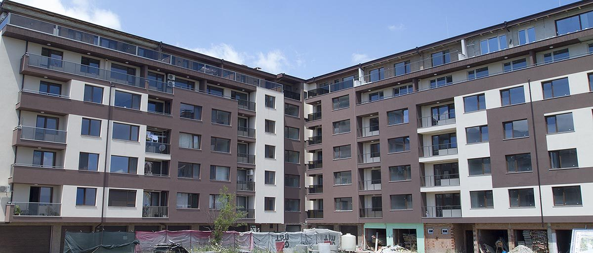 Permalink to: Жилищна сграда с магазини и гаражи, София, кв. Студентски град